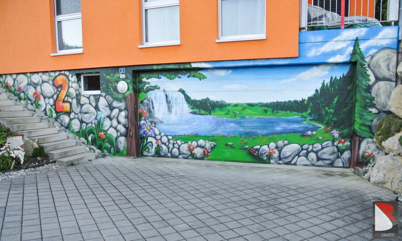 Natur Graffiti Kunst – Sax (St Gallen) | GRAFFITI ARTIST PRO.