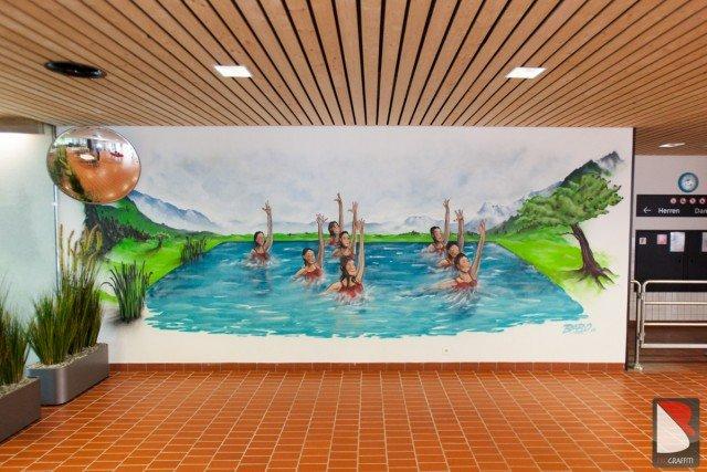 Hallenbad-Graffiti-Sprayer-Schweiz
