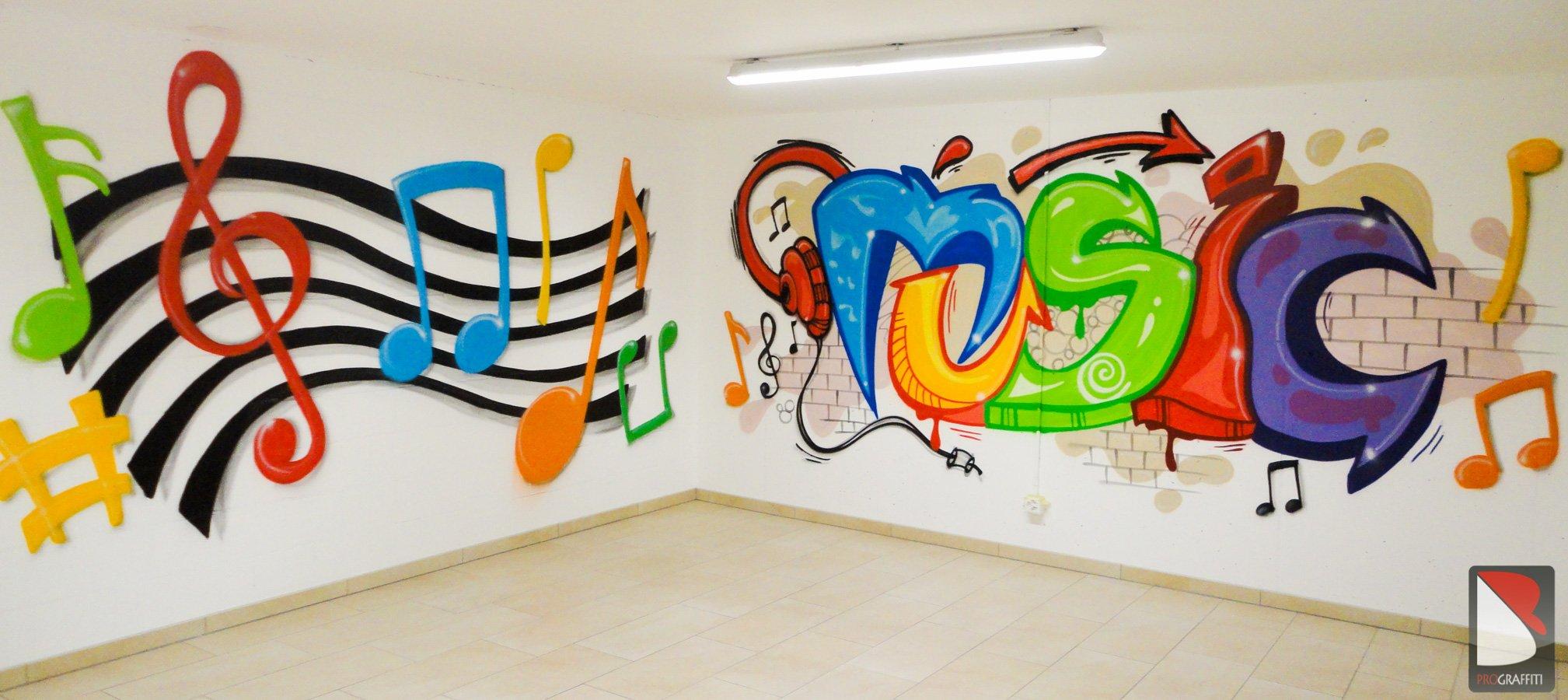 Graffiti Music – Zurich | Graffiti Künstler Pro.