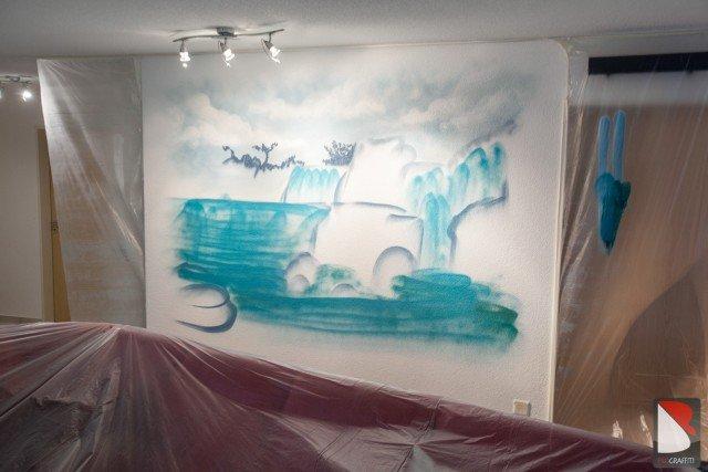 Wasser-fall-Kunstler-progress